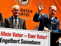 Sonneborn will seinen Vater als Bundespräsidenten