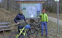 Start für neue Radstrecke