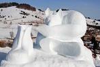 Fotos: Erstes Schwarzwälder Schneeskulpturenfestival