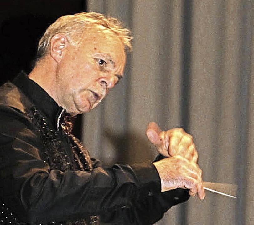 Als neuer Dirigent in Murg gut angekommen ist Robert Rüegsegger.   | Foto: Archivfoto: Kaiser
