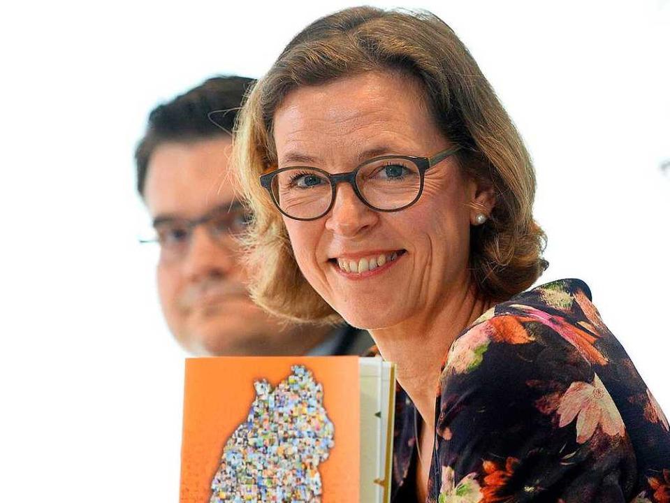 Beate Bube, Präsidentin des Landesamte...hutz, hier im Juni 2016 in Stuttgart.     Foto: dpa