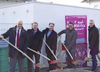 Telekom verlegt leistungsfähige Glasfaserleitung