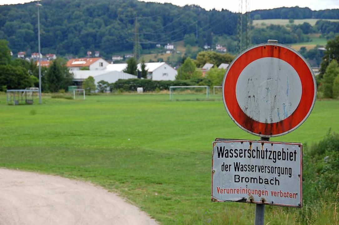 Als Ersatz für das Entenbad soll aus d...das Gewerbegebiet Brombach-Ost werden.  | Foto: Martin Pfefferle