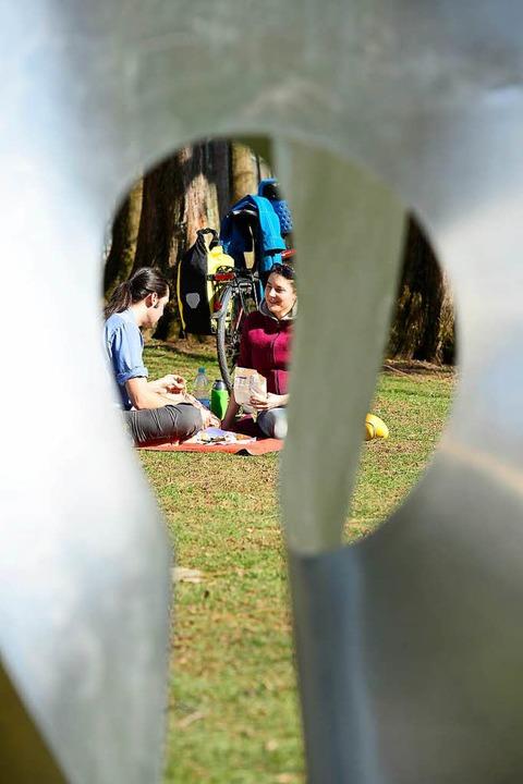 En Picknick im Botanischen Garten &#82...rstag auf verschiedene Arten genießen.  | Foto: Ingo Schneider