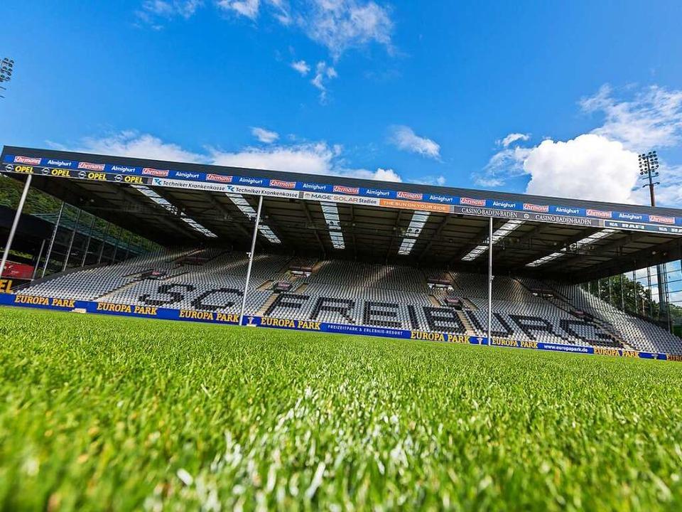 Die Spiele würden 2024 möglicherweise im neuen Stadion stattfinden.  | Foto: Carlotta Huber
