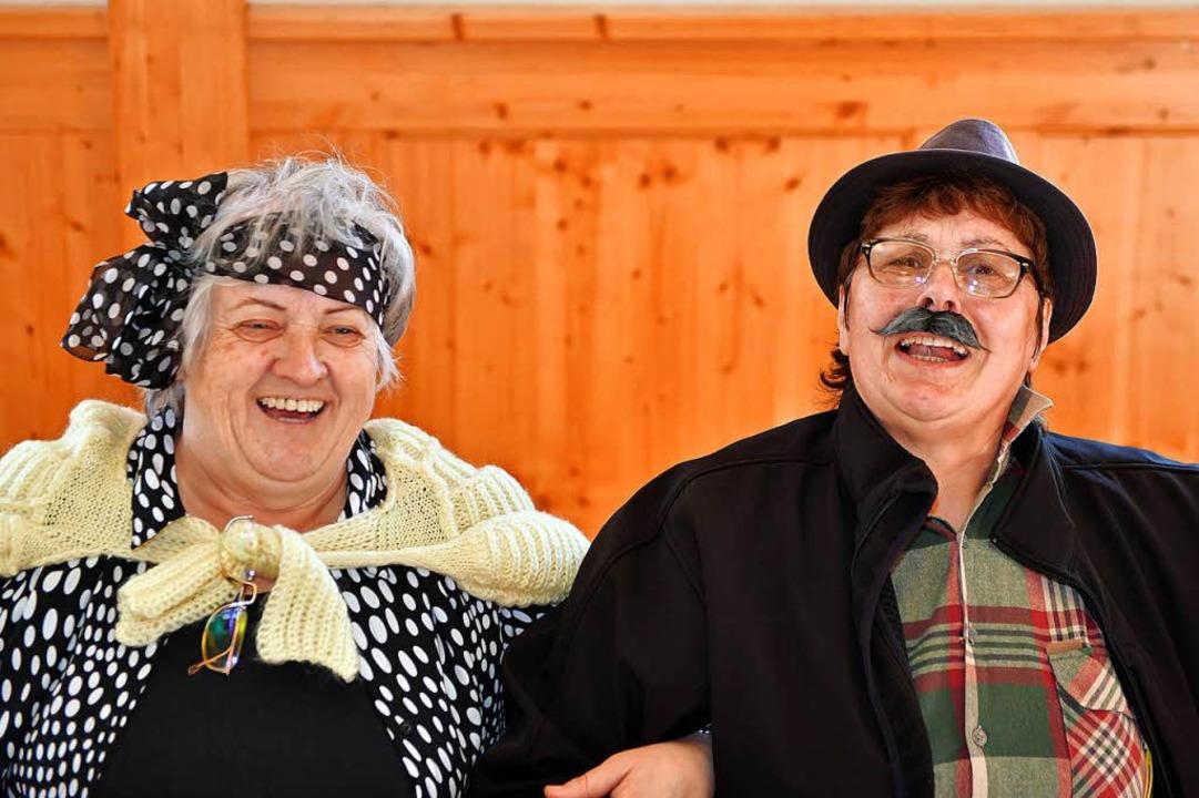 Schunkeln und Singen war angesagt beim...en  Seniorennachmittag in  Lenzkirch.   | Foto: Wolfgang Scheu