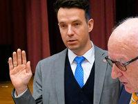 Bürgermeister Andreas Hall legt Amtseid ab