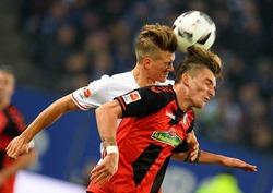 Die Bilder zum Spiel: Freiburg holt einen Punkt in Hamburg