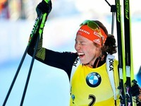 Biathlon-WM: Fünftes Gold für Laura Dahlmeier