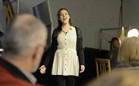 """Bei """"Kultur-Vor-Mittag"""" im Wallgrabentheater gab's ein Umsonst-Konzert mit einem Hauch von Pathos"""