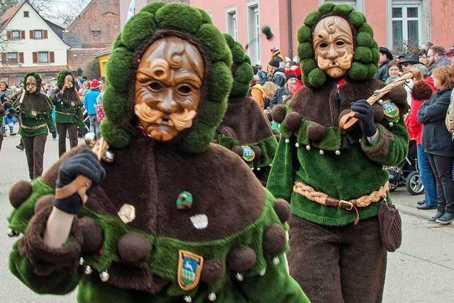 Fotos: Narrentreffen in Waldkirch-Buchholz