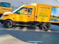 Die Post stellt ihren Fuhrpark auf Elektrofahrzeuge um