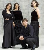 Sonos-Quartett tritt in der Dorfkirche in Riehen/Schweiz auf