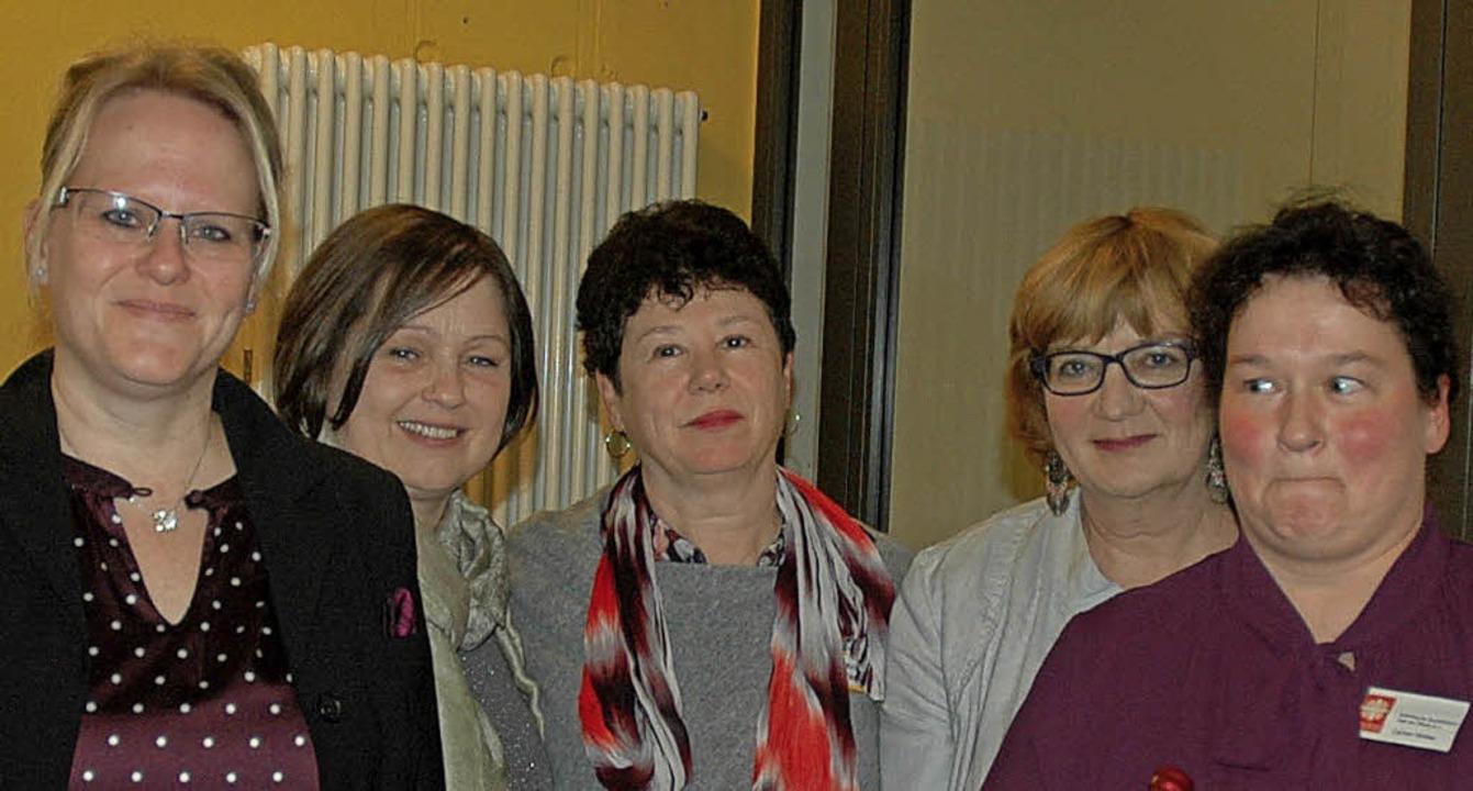 Das Dozententeam mit  Katja Mattern,  ...cheib und   Carmen Winkler (von links)  | Foto: Regine Ounas-Kräusel