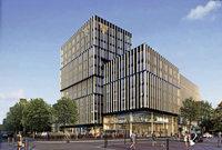 Die Volksbank-Zentrale in der Bismarckallee wird im Herbst abgerissen