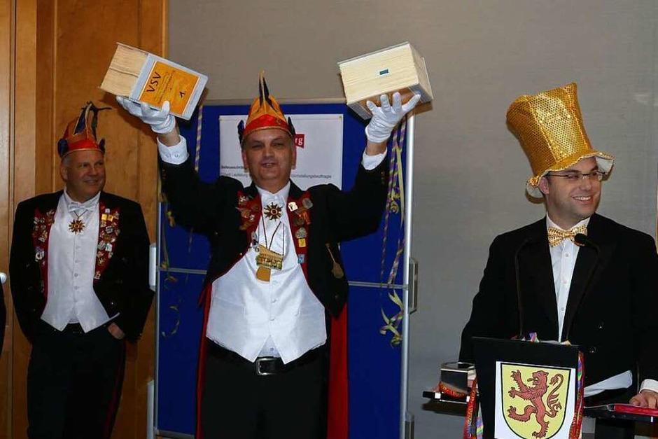 Hoch her ging es bei der Bürgermeisterabsetzung im Laufenburger Rathaus. (Foto: Nino Betz)