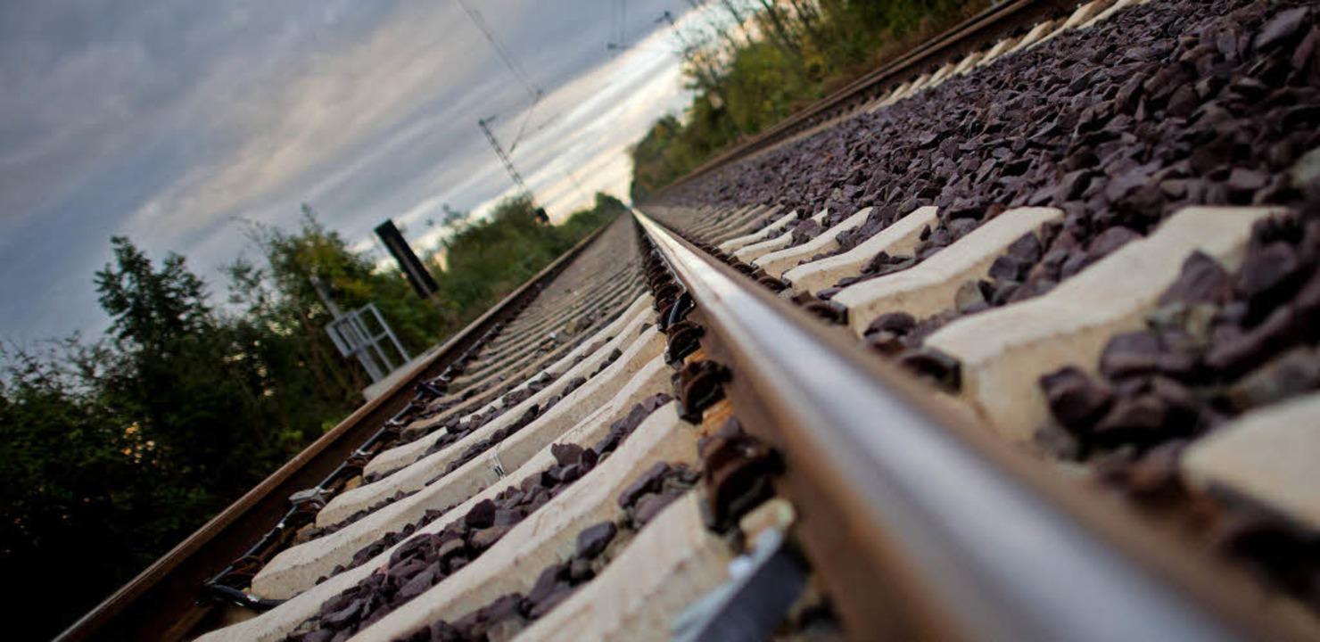 Keine guten Aussichten  in Sachen Bahnausbau      Foto: J. Stratenschulte/dpa