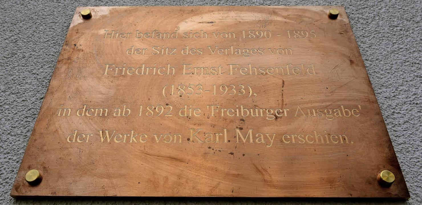 Gedenktafel an der Wallstraße 10     Foto: Ingo Schneider