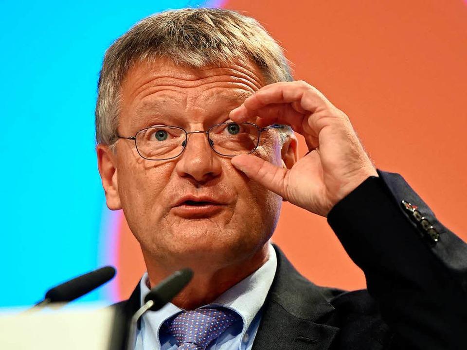 Gratwanderer: Jörg Meuthen, Co-Bundessprecher und Landtagsfraktionschef der AfD   | Foto: dpa