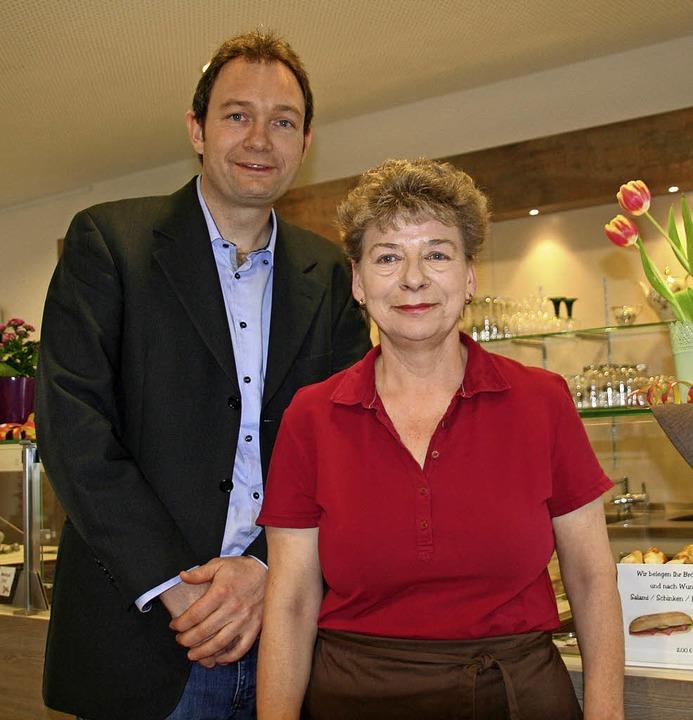 Stefan Schmidt, Leiter des Georg-Reinh...ie sich federführend ums Café kümmert.    Foto: Jung-Knoblich