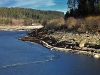 Fotos: So sieht der Schluchsee mit wenig Wasser aus