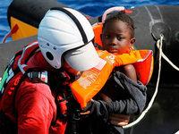 Mit dem Rettungsschiff im Mittelmeer unterwegs