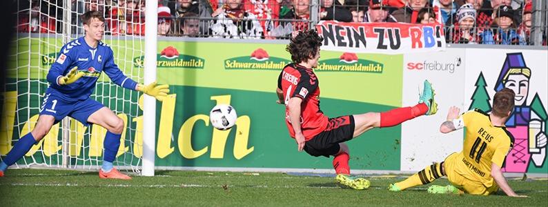 SC Freiburg geht gegen Borussia Dortmund mit 0:3 unter
