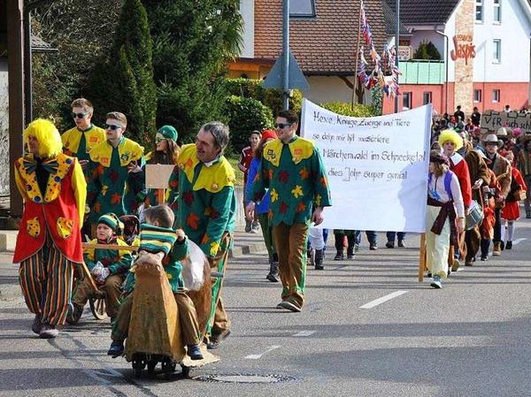 Der Umzug in Pfaffenweiler 2017 in Bildern.