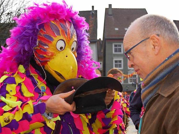 Von der Vielfalt der närrischen Sujets ließen sich die Zuschauer in Laufenburg begeistern.
