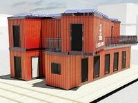 Basler bauen Recyclinghaus aus Schiffscontainern