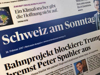 """Die """"Schweiz am Sonntag"""" ist zum letzten Mal erschienen"""