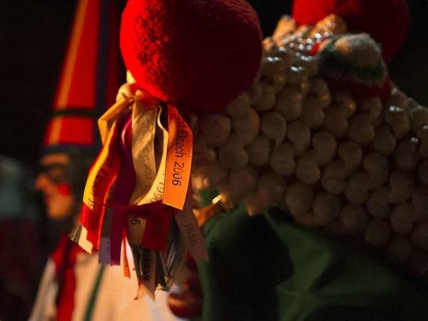 Fackelumzug und Taganrufen der Schuttig in Elzach