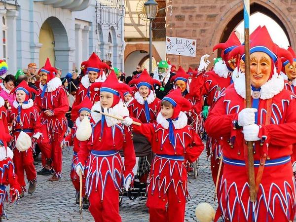 Der große Tag der Jokili: Hunderte zogen am Montag durch die Straßen der Stadt und hatten ihren Spaß.