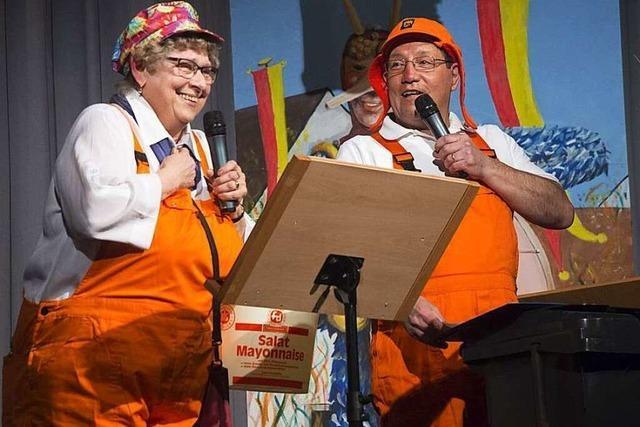 Fotos: Zunftabend der Rhiischnooge in Neuenburg