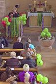 Gottesdienst mit alemannischer Narrenpredigt