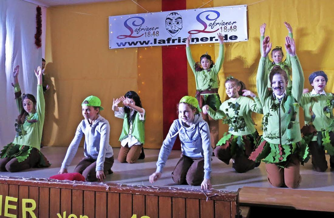 Die Lafir-Teens mit einer gelungen Tanzdarbietung  | Foto: Georg Voß
