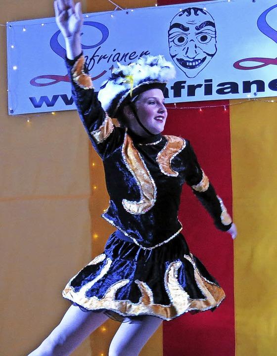 Alina Wieber als Tanzmariechen  | Foto: Georg Voß