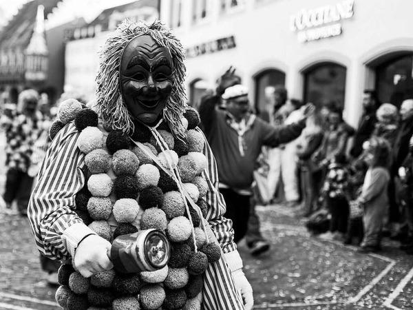 Fasnetmendig-Umzug in Freiburg