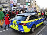 Narrenumzug in Freiburg verläuft friedlich