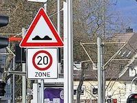 Rütteln neue Bremsschwellen Autofahrer zu sehr durch?
