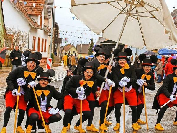 Mickey-Mäuse in Grafenhausen