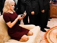 Trump-Beraterin Conway rechtfertigt umstrittenes Sofa-Foto