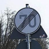 Nicht alle Schilder sind nachvollziehbar