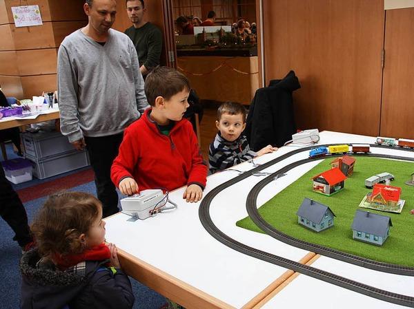 Faszinierende Miniatur-Welten gab es bei der Modellbahnausstellung im Kurhaus zu sehen.