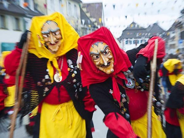 Hexen, Geister und Fantasiewesen in allen erdenklichen Formen und Farben machen Sulzburg unsicher.