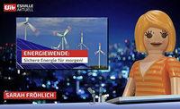 Neue Besucherstation im Forschungsinstitut erklärt die Energiewende