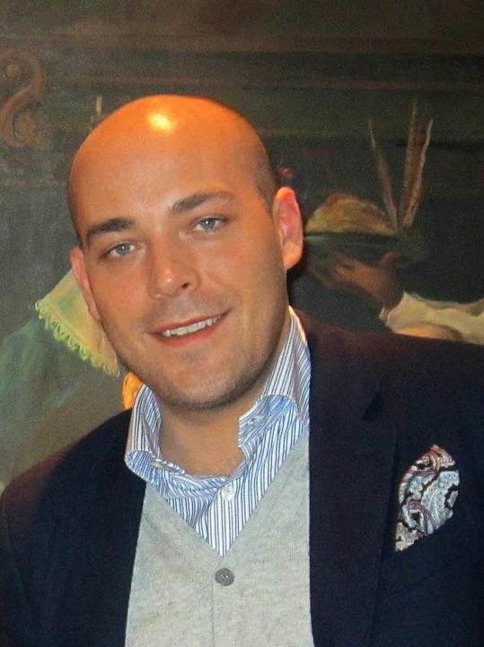 Tobias Fischer, Hoteldirektor Hotel Stadt Lörrach  | Foto: zVg