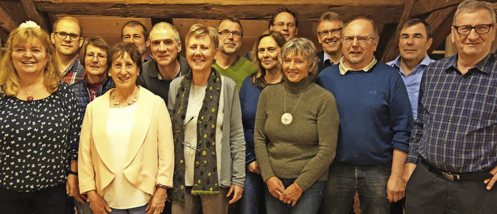 Der Vorstand des Schwarzwaldvereins (v... Beirätin Elsa Jännicke auf dem Bild.   | Foto: Andreas Mahler