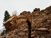 Handyaufnahmen zeigen Erdrutsch in der Wutachschlucht