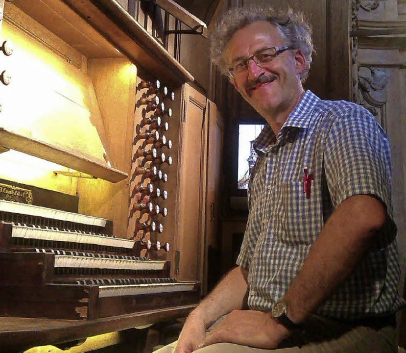 Organist Gerhard Gnann  | Foto: Privat